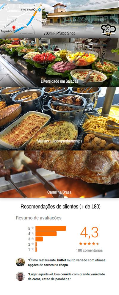 bd307516a Degustus Restaurante Brusque